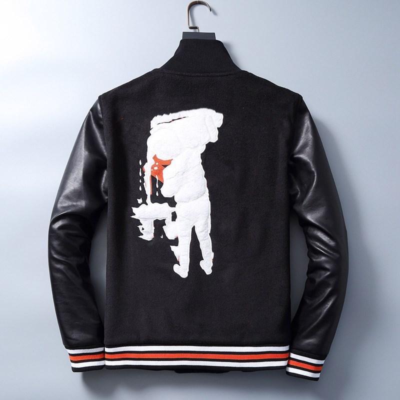Nwe mujer chaqueta abrigo piedra rompevientos abrigos bombardero chaqueta clásica cuero con capucha impresión moda chaqueta hombre ropa hombre