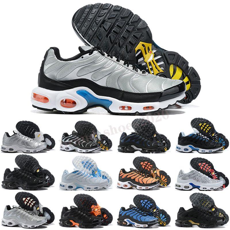 Plus TN Tamaño de TN US 12 Hombres Mujeres Ejecutar zapatos Triple Negro Blanco Verde Fuego Pink Pink Sneakers Fade Trainers EUR 36-46