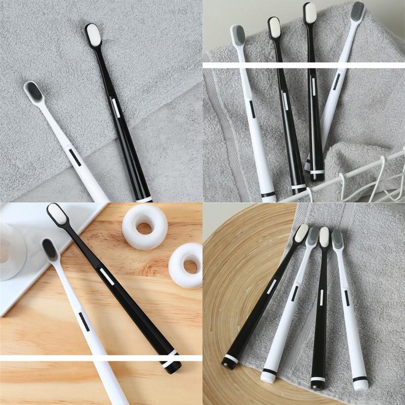 Brosse à dents de mode Nettoyer les brosses à dents Réduisez les bactéries Bactéries Besignements Breakes Soft Famille Soft Famille Oral Femme enceinte 3 5YXA D2
