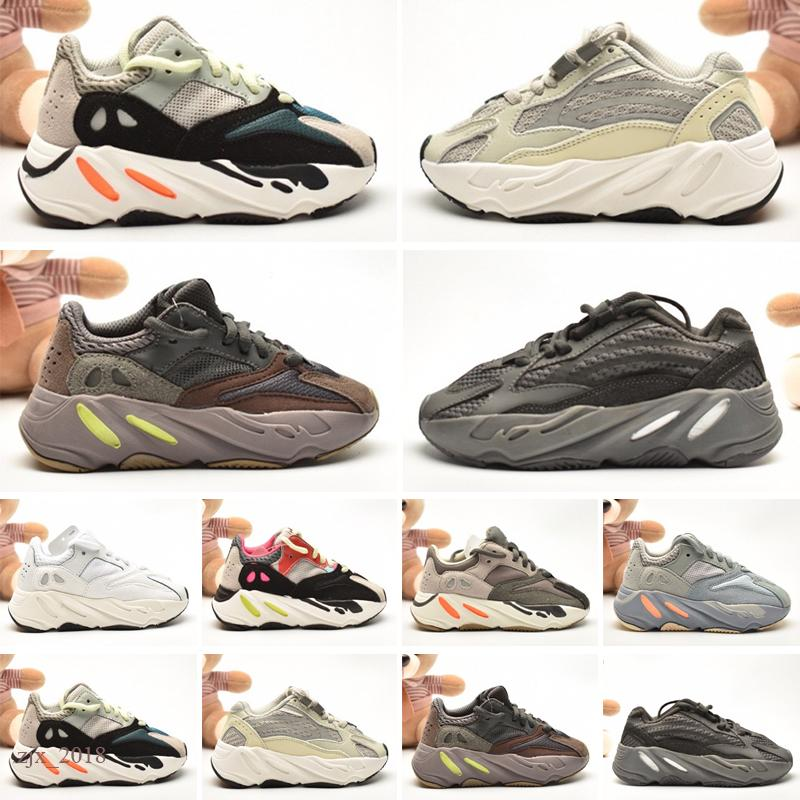 Yeezy 700 Kids Chaussures Baby Toddler Run Sneakers Kanye West Shoes Chaussures Enfants Enfants Boys et Filles Chaussures Pour Enfants