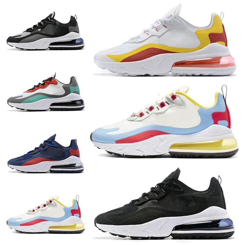 2021 React Открытая обувь для мужчин Женщины Высочайшее качество Bauhaus Optical Все Balck Серые белые мужские тренажеры Дышащие кроссовки 40-45