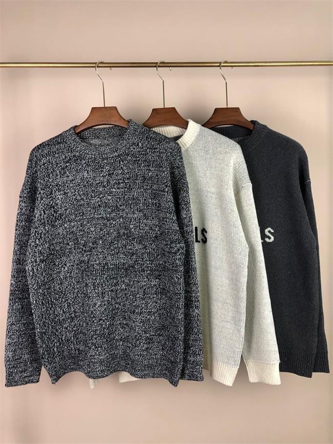 20ss Mens Womens дизайнер свитер люкс буквы пуловер мужчины толстовки с длинным рукавом активная толстовка вышивка трикотаж теплый зимняя одежда # 025