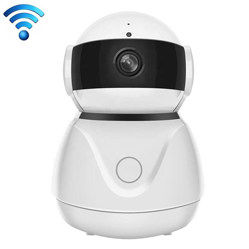 ZS-IPH200 Alibaba Cloud Small Squint Private Robot Appearance Wireless Camera Wifi Network Ethernet Port Intelligent Surveillance Camera 3
