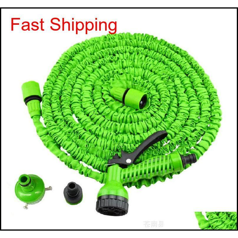 3x Expandable Magic Hose With 7in1 Spray Gun Nozzle 25ft/50ft/75ft/100ft Irrigation System Garden Hose Water G jllbeW outbag2007