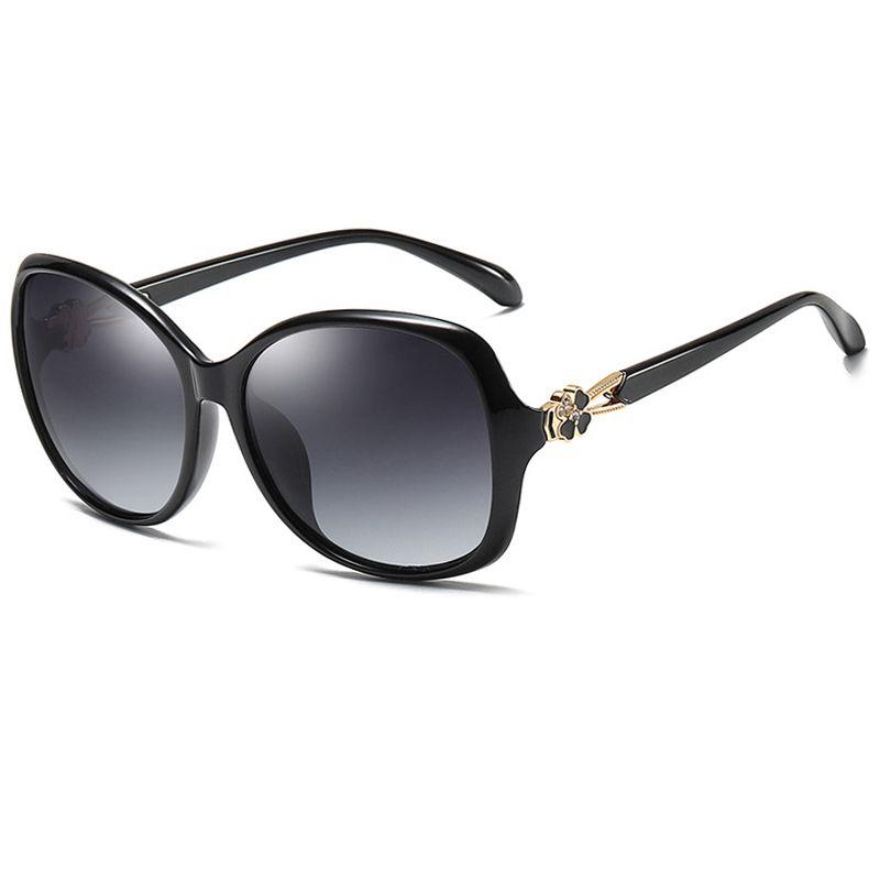 Transparente rote Kanal Sonnenbrille Frauen Mode Polarisierte Sonnenbrille für Damen