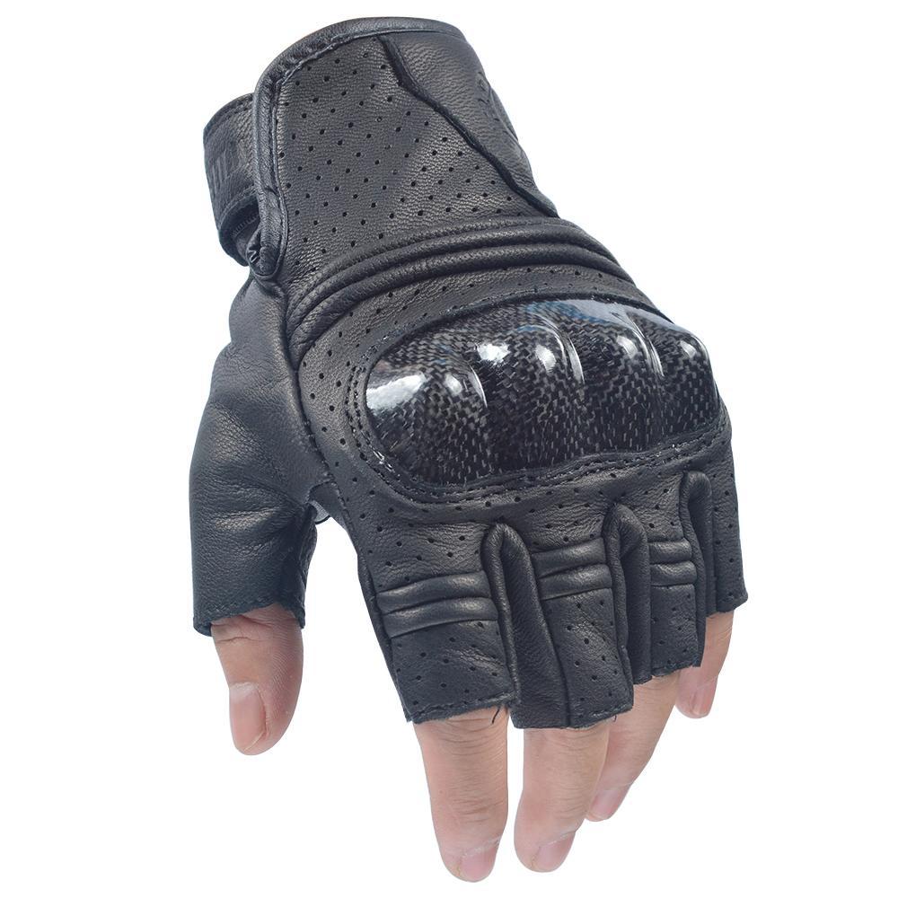Willbros demi-doigt gants moto corbin air maillage été aéré aéré poids léger