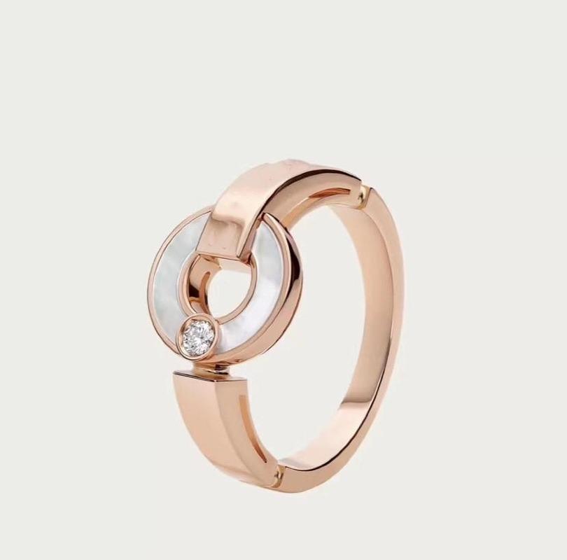 جديد الحب 2020 القرص الكلاسيكية أبيض قذيفة الماس إلكتروني الدائري السيدات سحر مجوهرات الدائري الفاخرة رائعة تغليف هدية مربع