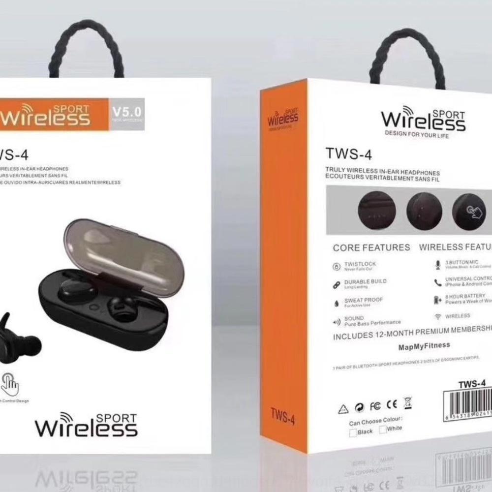 PSBK Yeni Ucuz Mini Kulaklık Kulaklık Ile Bluetooth Kablosuz V4.0 Handsfree Kulak Kulak Müzik Kulak Tomurcukları HeadsetMicrophone ve Samsu