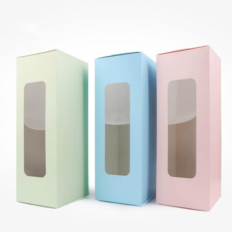 Подарочная упаковка Феримо 10 шт. DIY пакет розовый / синий / зеленый конфеты торт коробки свадьбы день рождения украшения коробки оптом