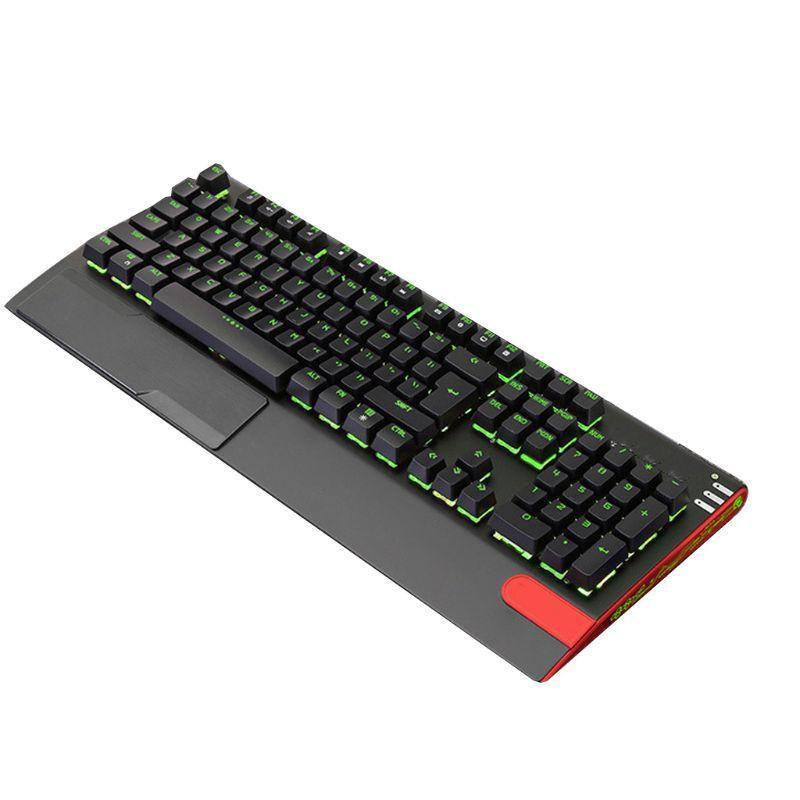 Clavier Mouse Combos Wired USB RVB Gaming LED Backlit Alliage Alliage Panneau Suspension KeyCap KeyCap Ordinateur de bureau CLÉPAD DE MAISON