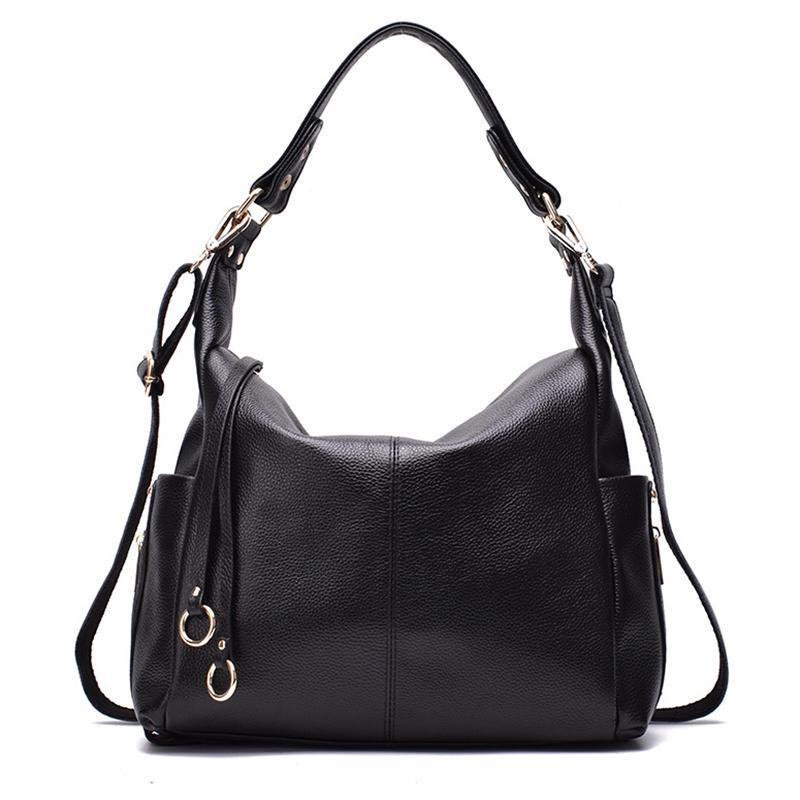 2020 Мягкие плечевые кожаные сумки Wiliamganu Bag Big Женщины Роскошные Женские Сумки Подлинный Посланник Дизайнерские Сумки Crossbody Jvokr