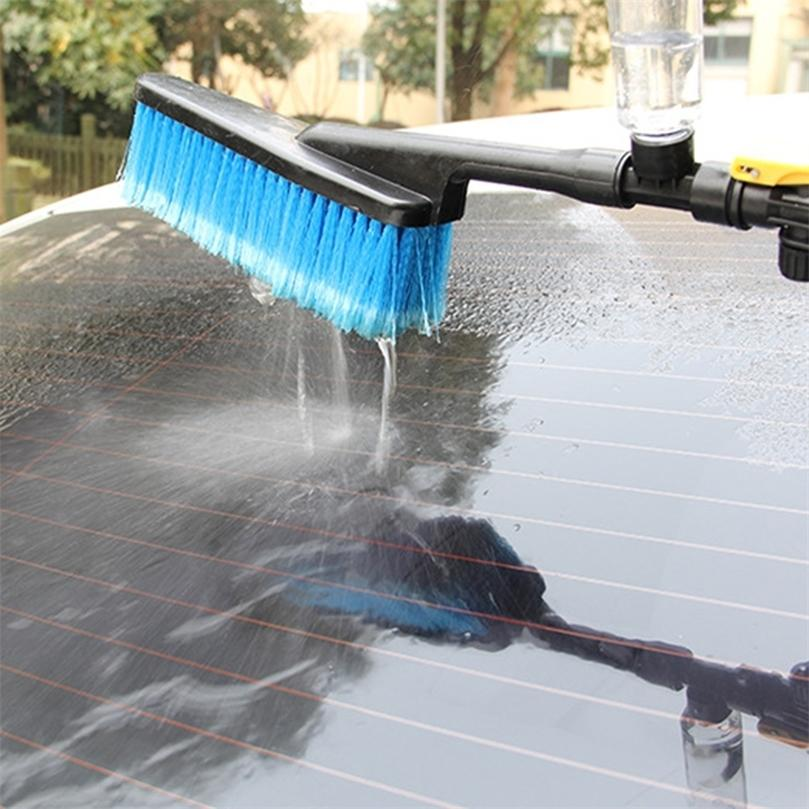 Lavagem de carro Limpeza Escova Auto Exterior Retrátil Longa Punho de Limpeza Escovas Universal Car Spray Pincel 201214
