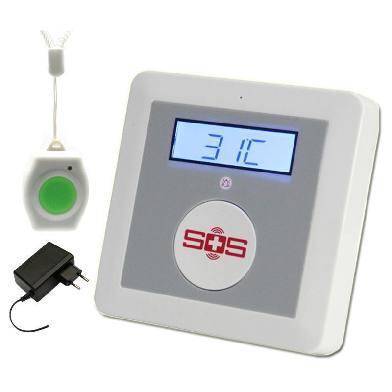 Alarm Sistemleri GSM Sistemi Ev Güvenlik Kiti DIY Evi Yangın İntroş Güvenlik SOS K3 Paket Set