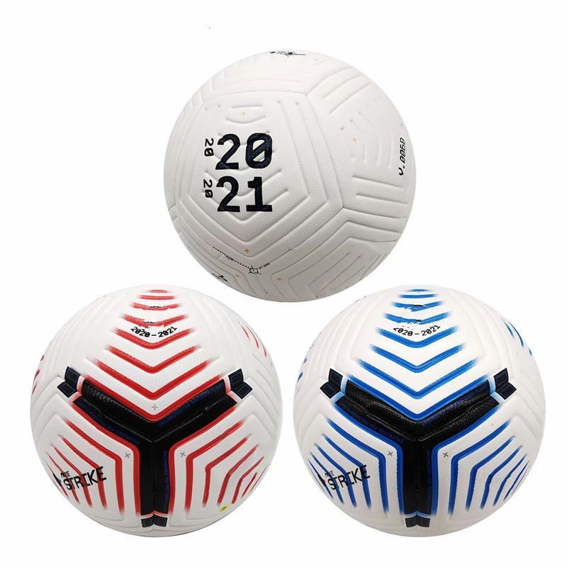 Club League 2021 Size 5 soccer Ball high-grade nice match liga premer 20 21 football balls (Ship without air)