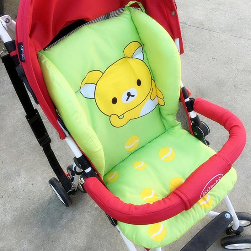 Bebek Arabası Yastık Yemek Sandalye sandalyesi Bebek arabası Koltuk Kapak Mat Bebek Bezi Pad Pamuk Pram Yatak Arabası Aksesuarları 201021