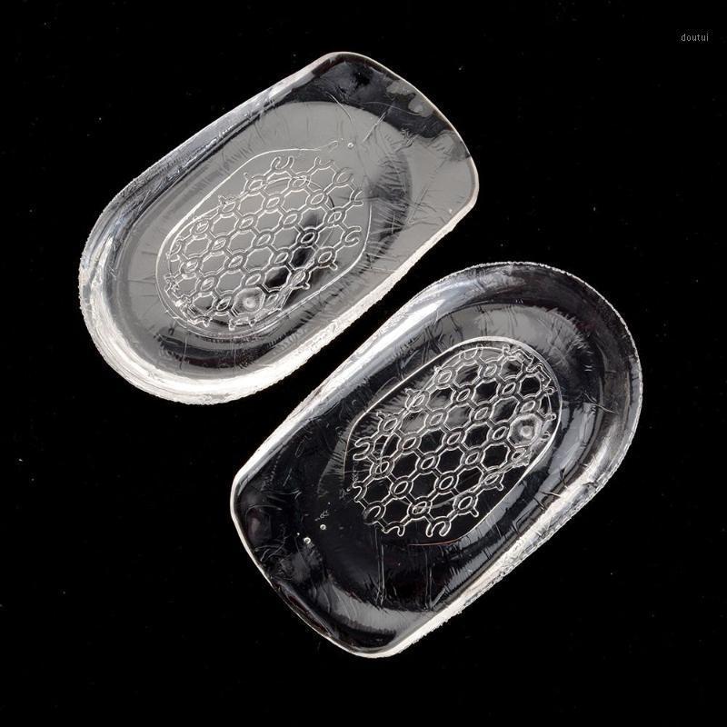 Sapatos Materiais Silicon Gel Insoles Back Pad Copo de Salto para Calcanaeal Dor Saúde Pés Support Support Spur Almofada De Silicone Pads1