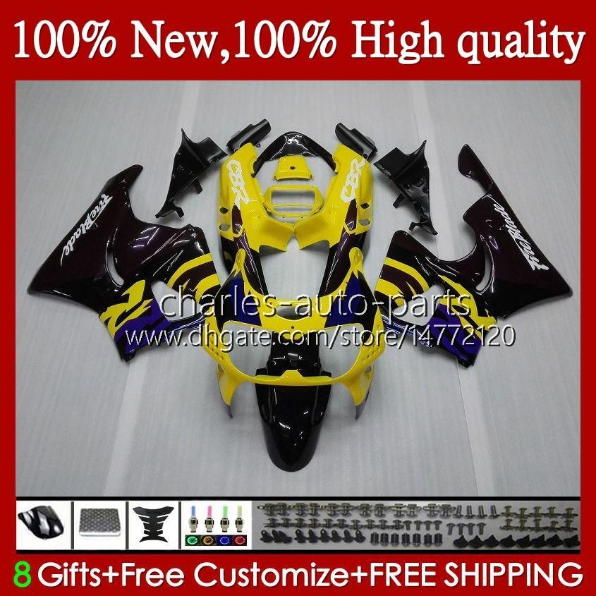 Honda CBR 893RR 900RR黄色BLACK CBR900 CBR893 900 893 CC RR 95 H.6 1994 1996 1997 CBR893RR 94 95 96 97