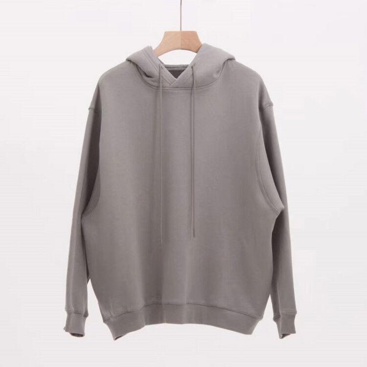 19Ss Duplo design de capuz capuz pulôver manga comprida moletom estilo rua hoodies homens mulheres hip hop casual streetwear tamanho s-xl