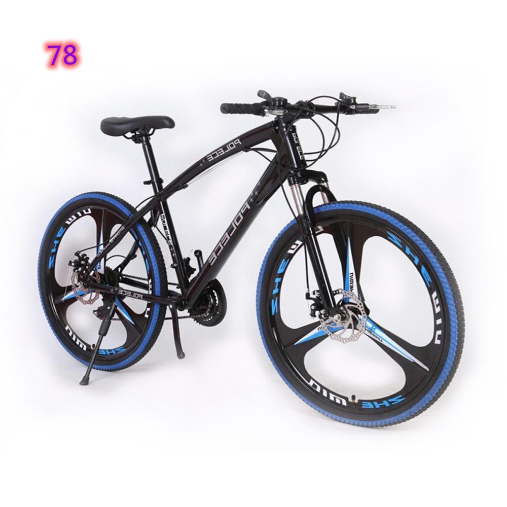 Utilitaire vélo vélo à vélo unique transmission de 24 pouces pour hommes et femmes adultes cyclisme urbain étudiants de cyclisme ordinaire ventes d'usine