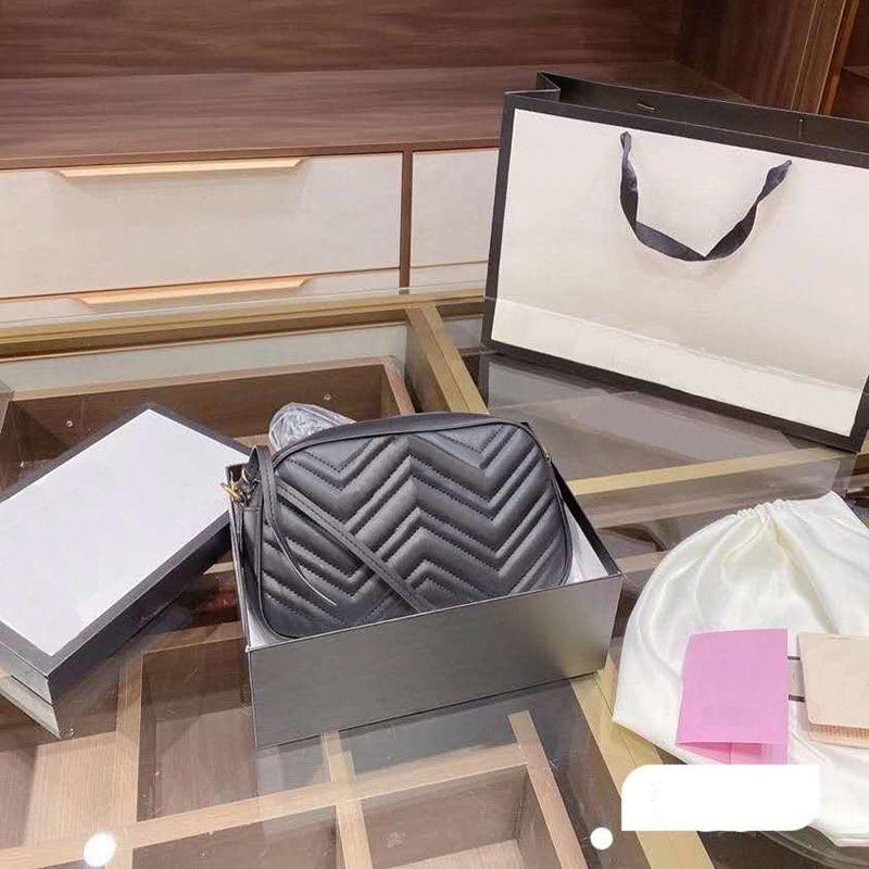 Principais bolsas de grife de luxo 3a com caixa de sacos de carteiras senhoras ombro em forma de coração corrente de ouro disco de ombro saco de mensageiro