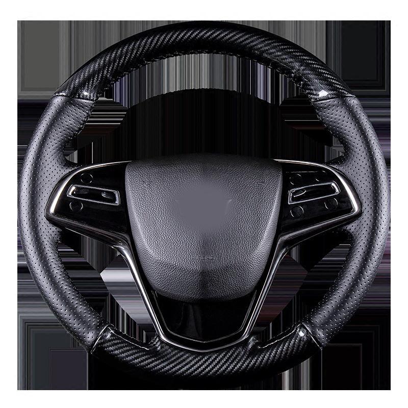 38см Cadillac ATSL / XTS / XT5 / CT6 Крышка рулевого колеса рулевого колеса и модификация интерьера