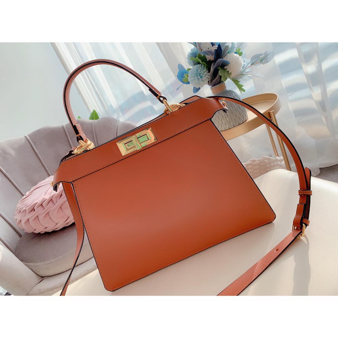 المرأة حقيبة تسوق العلامة التجارية عالية الجودة جلد طبيعي حمل أزياء جديدة الكتفلويس حقيبة الرقم التسلسلي رمز التاريخ حقيبة يد JG4