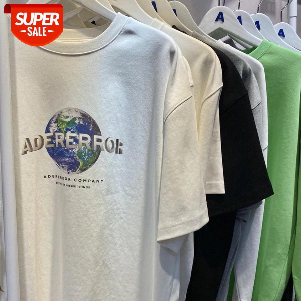 0,5 kg Stoff dick 1: 1 Beste Version Ader Fehler T-shirt Männer Frauen Paare T-Shirts Ackerror Unternehmen Gedruckte Männer T-Shirt # DV9Z
