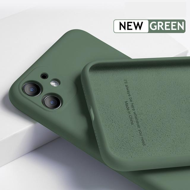 Al por mayor para iPhone 12 11 Pro SE 2 Funda de silicona suave Protección completa para el iPhone X XR caso 11 XS Max 7 8 6 6s Teléfono 5.4 6.1 6.7 pulgadas