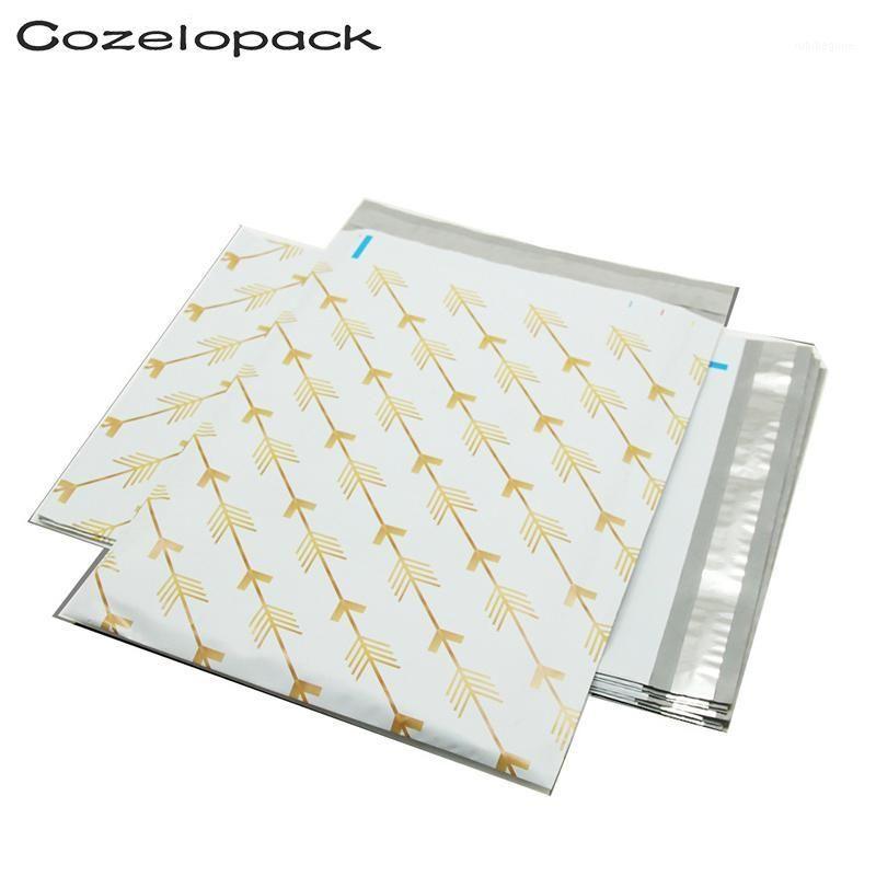 100 шт. 10x13-дюймовый напечатанный ECO Partic Mailer 26x33 см Postal Packaging Bags Poly Mailer Self Seal Convelops Доставка Сумки1