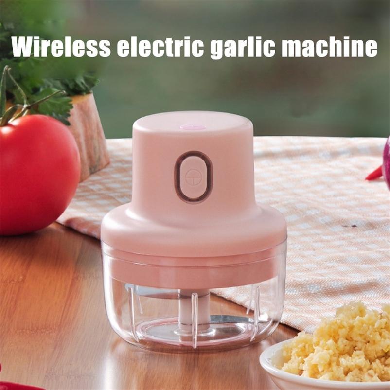 WonderLife Wireless Mini Electric Charlic Food Chopper имбирь овощной дробильный резак пищевой блендер процессор 201130