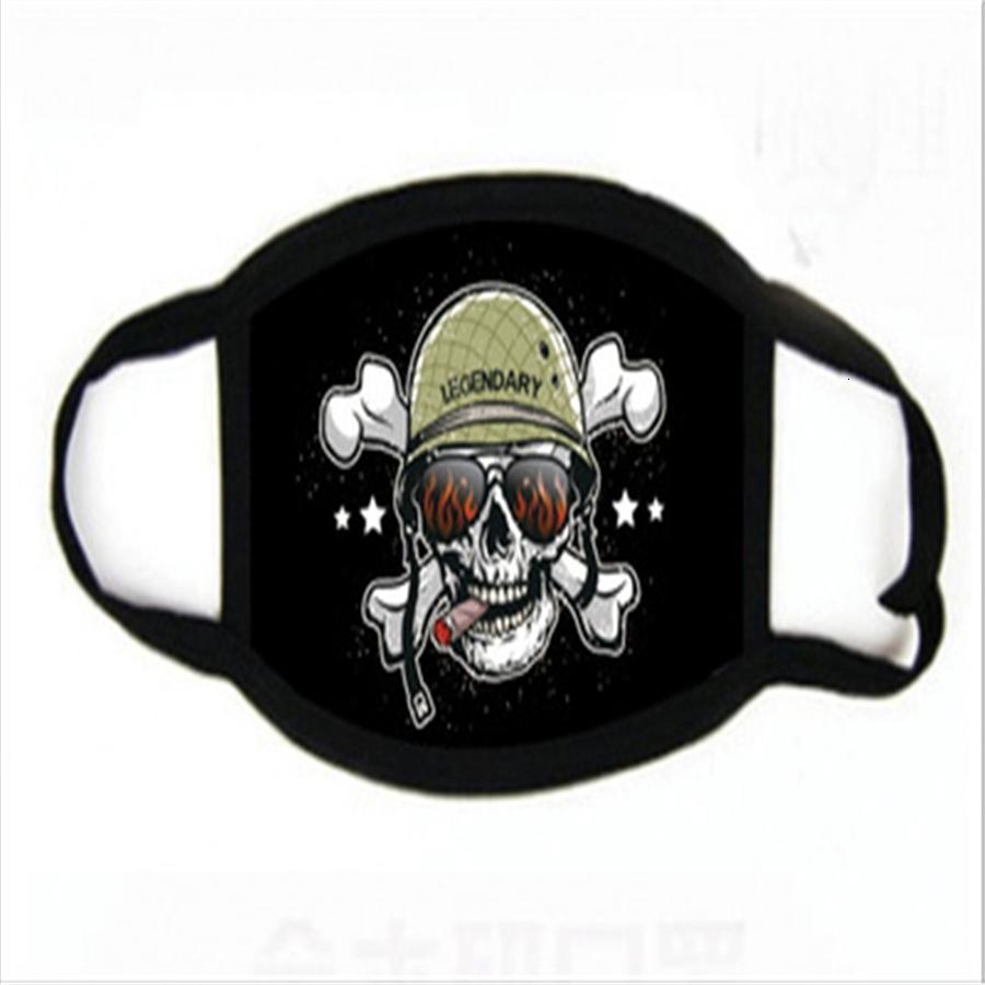 Máscaras assustador Festival Ot festiva alloween esqueleto exterior Motorcycle Icycle multi impressão Scarf Alf Fa Máscara Cap