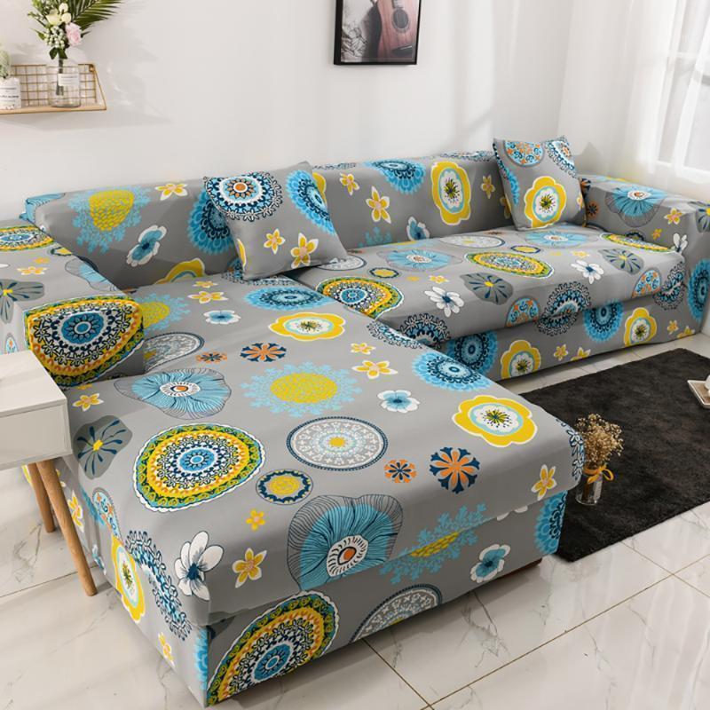 Airiorder Sofa Cover Anti-slip Elastic Slipcover Furniture Protector Cover Cover Ordina 2pieces da montare per la forma a forma di L-forma divano1