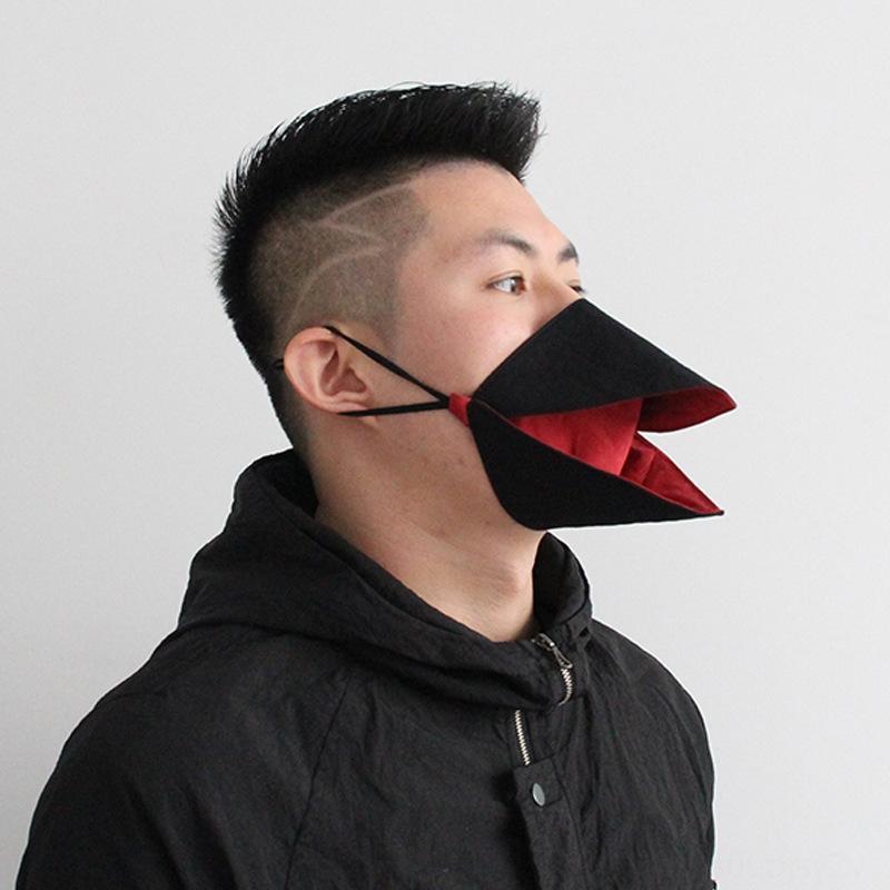 W2HH2 Новый Пыльчик Корректирующиеся Доказательство и Дышащий «клюв чистый хлопок против дыхания Новый пыль Корректируют доказательство и дышащий« клюв чистой маски хлопка анти