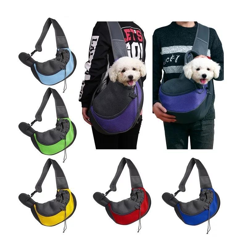 Haustier Tragetasche Katze Welpen Vordere Sling Carriers Umhängetaschen Hund Atmungsaktive Tote Outdoor Portable Haustiere liefert 6 Farben YFA2551