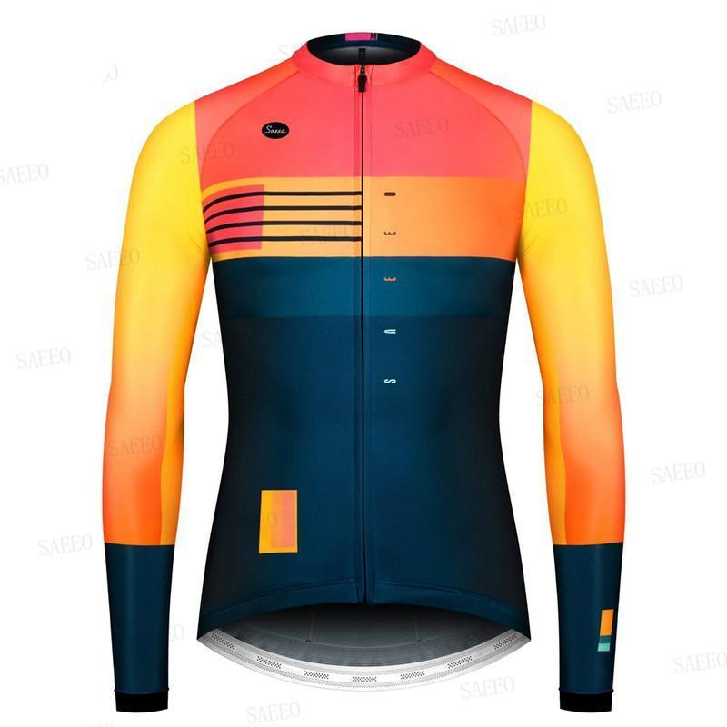 Pro longo da luva dos homens Gobikeful respirável Ciclismo Roupa Ropa Ciclismo Outdoor Anti-UV Equitação da bicicleta MTB Roupa BIB Set