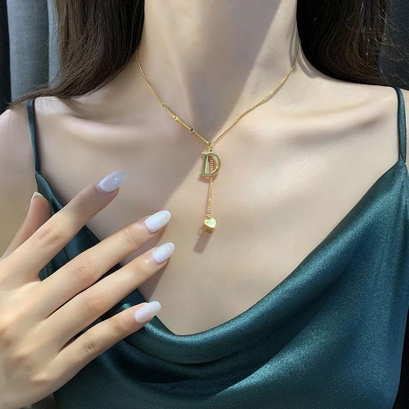 Горячая распродажа кулон ожерелья мода ожерелье для мужчины женщины ожерелья ювелирные изделия высококачественные 5 модели опционально 2102302B