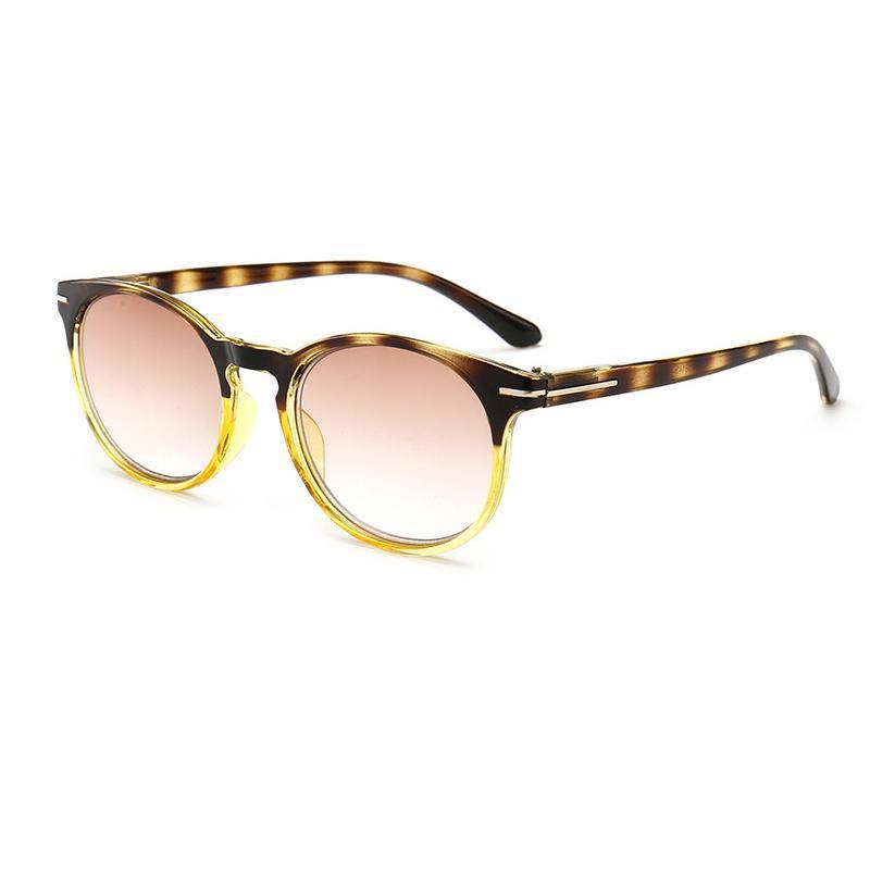 Солнцезащитные очки Мода Градиент Линс Круглые Очки для чтения Очки Женщины Мужчины Унисекс Лупа Очки Gafas de Lectura Leesbril View N9