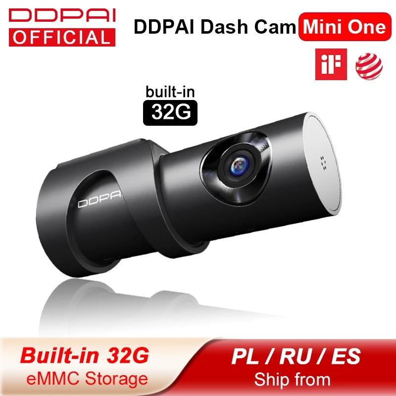 DDPAI داش كاميرا minione 1080 وعاء كامل hd سيارة dvr كاميرا مصغرة واحدة الروبوت واي فاي محرك السيارات سيارة مركبة فيديو المعدل 24 ساعة وقوف السيارات ل xiaomi