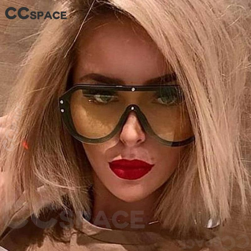 Occhiali da sole Vintage One Rivet Lens Donne Fashion 47987 Shades Men UV400 Occhiali TMPOP