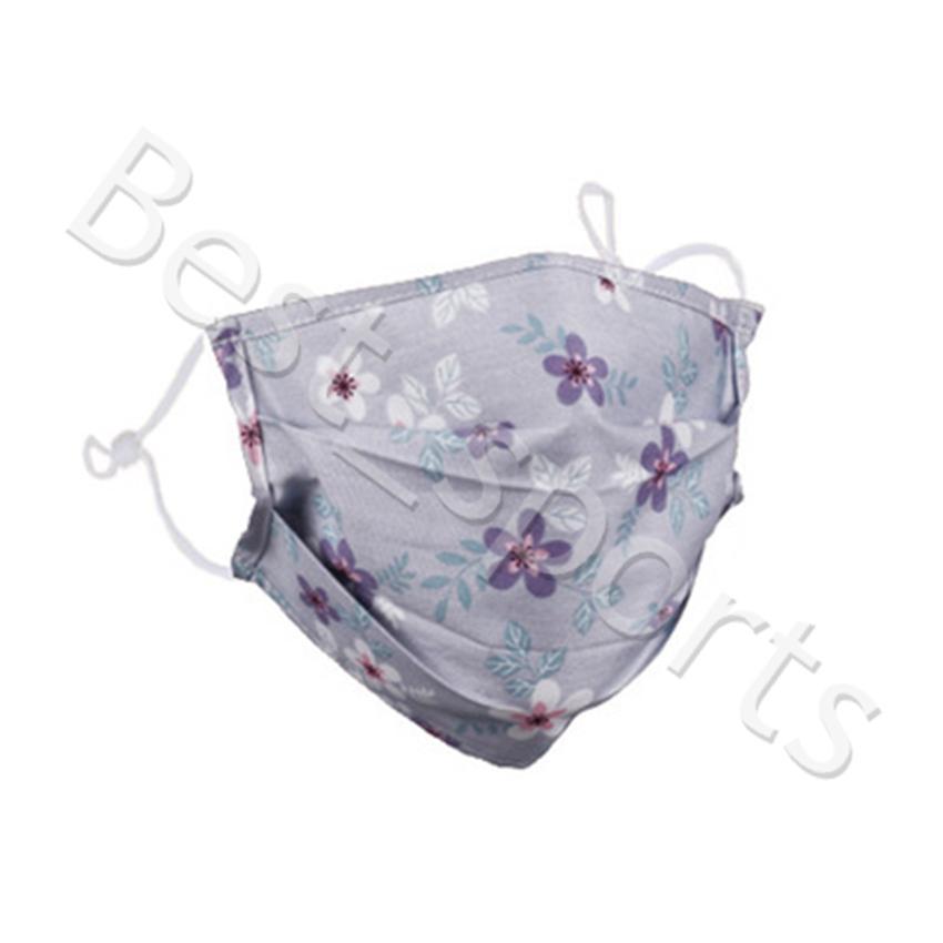 Máscara reutilizáveis Rosto Floral Imprimir Boca-de mufla Windproof lavável Anti Poeira máscara de esqui quentes Máscaras da manta HWC3781