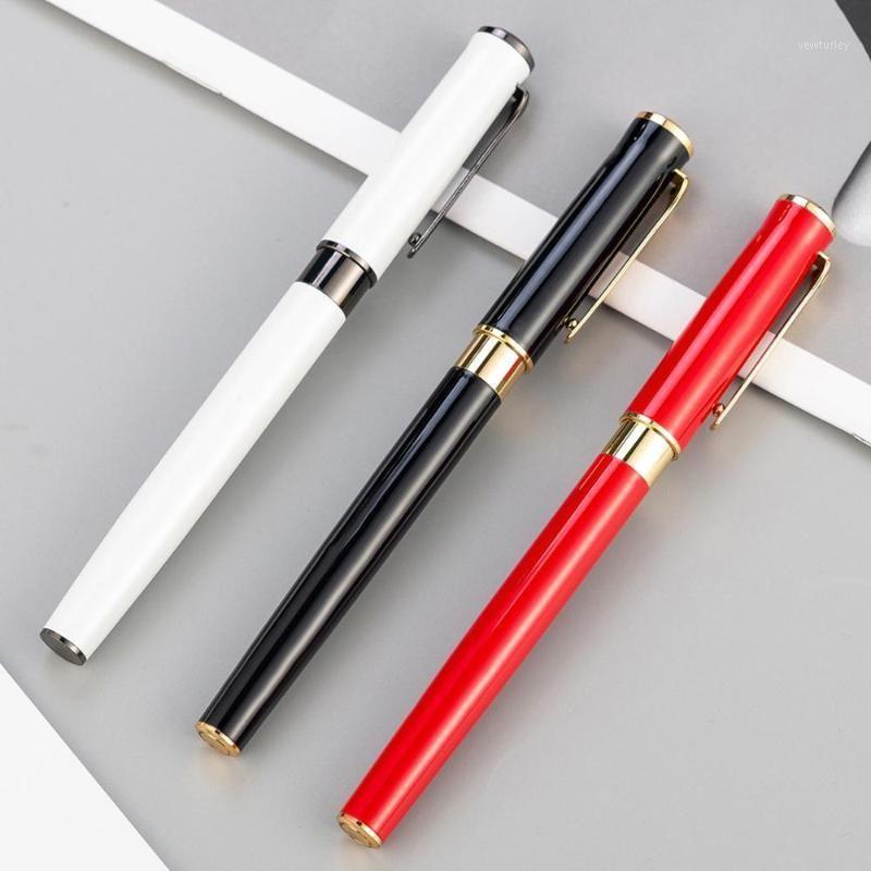 أقلام حبر جاف 2021 المعادن القلم الإعلان الإعلان هدية توقيع مكتب المدرسة الكتابة القرطاسية 1
