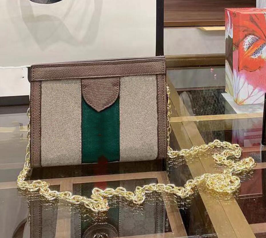 Borse da donna Borse Busta Busta Designer 2021 Chains Canvas Womens Borsa stampata Crossbody Bushbody Moda borse919 Lussurys Spalla PU KFHEO