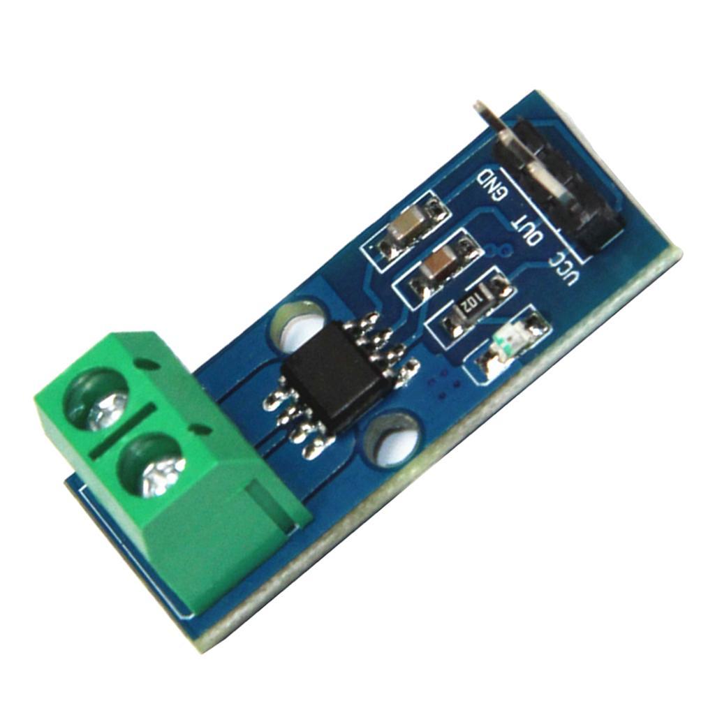 30A Faixa Salão Sensor atual Módulo Board ACS712 módulo com 3 Pin Para