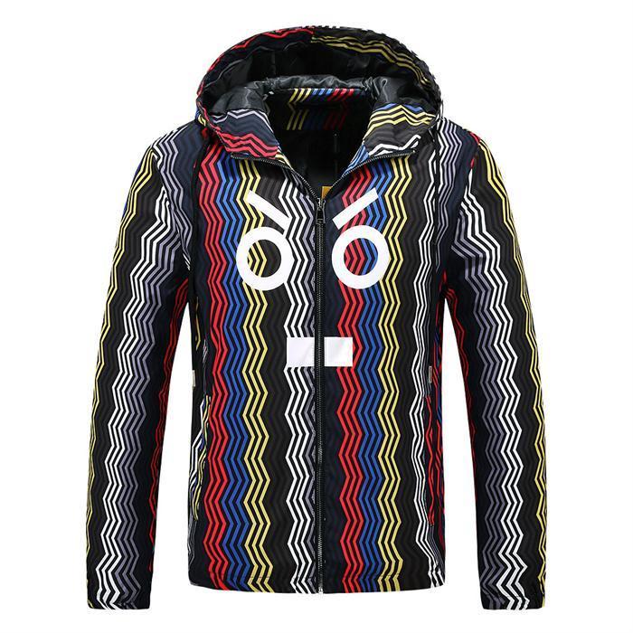 Мужская случайный плюс вниз куртки мужской моды на открытом воздухе куртки Зимней куртки A41