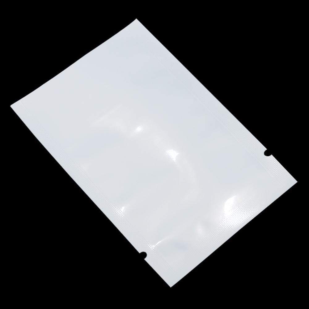 812 CM Beyaz Temizle Plastik Torba Açık Üst Gıda Depolama Ambalaj Çantası Isı Mühür Vakum Paketleme Torbaları Şeker Kurabiye Çay Polybag H SQCSLF