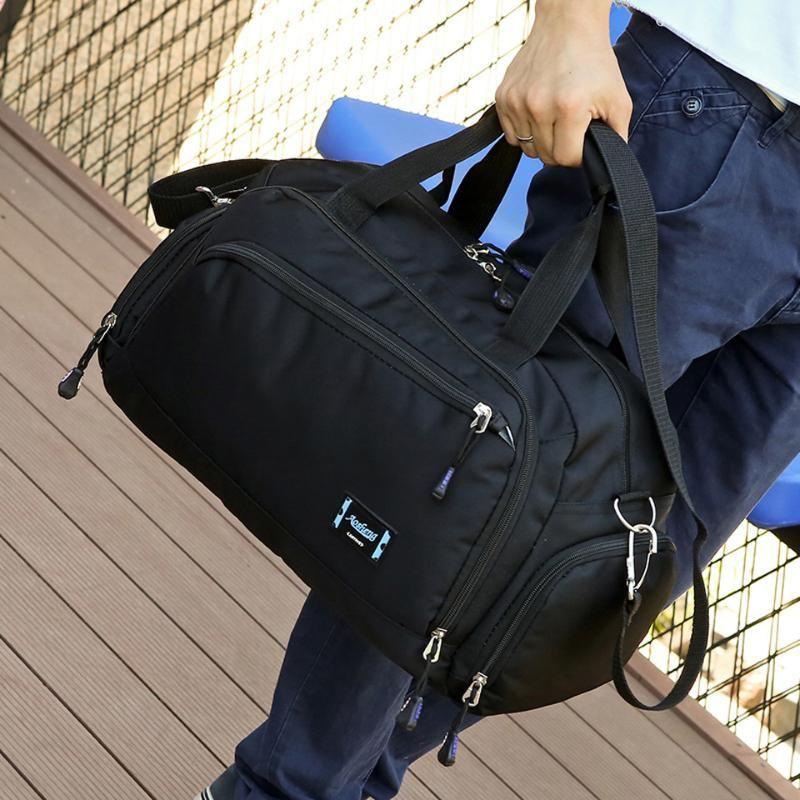Bolsas de viaje de gran capacidad para hombres Mujeres Largo Viaje corto Bolso Lienzo Mano Mano Bolsa Bolsa de Hombro Crossbody Crossbody