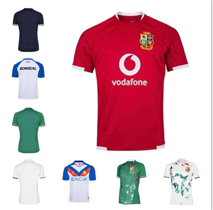 Nuovo 2021 Inghilterra e Ireland Lions Rugby International League Jersey Home National Team Lions Lions Shirt da Rugby Personalizzazione