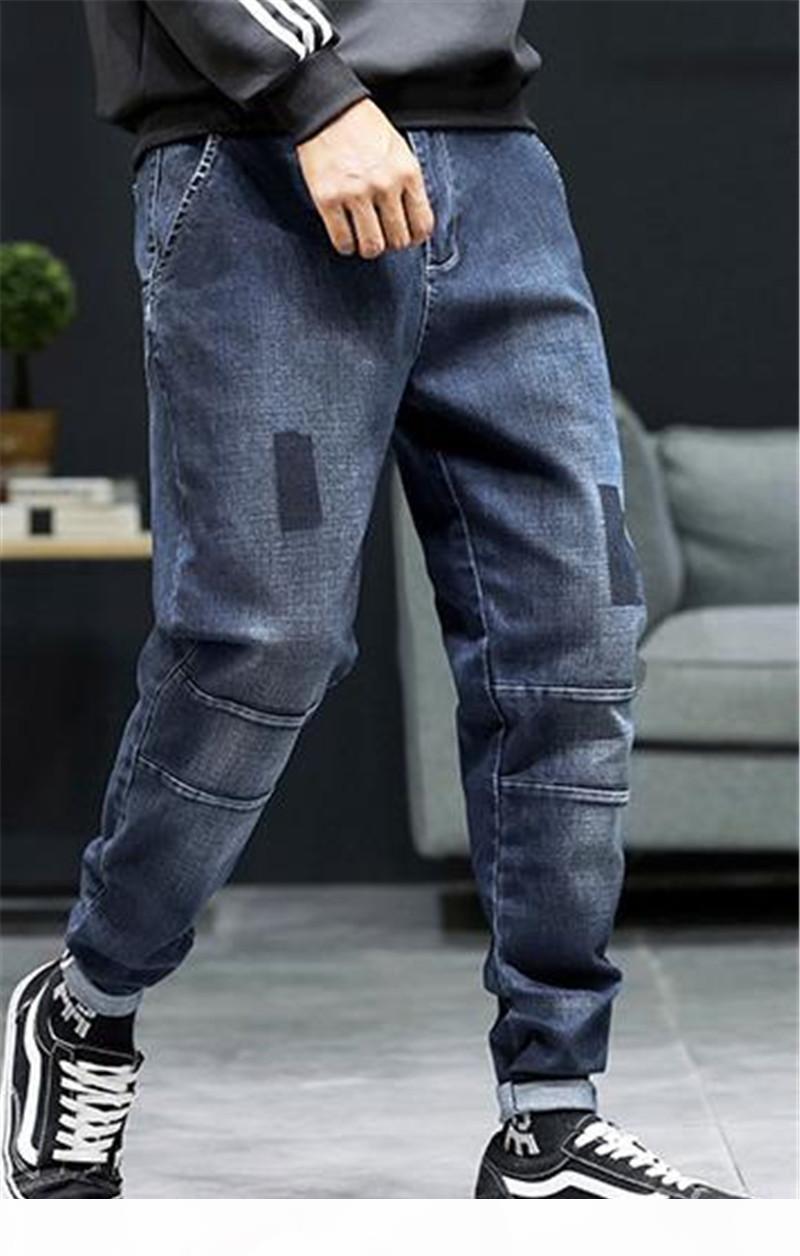 Designer Cargo Pants personalità patch caviglia a bande Mens matita pantaloni da uomo 2020 Stilisti di lusso più il formato Haroun