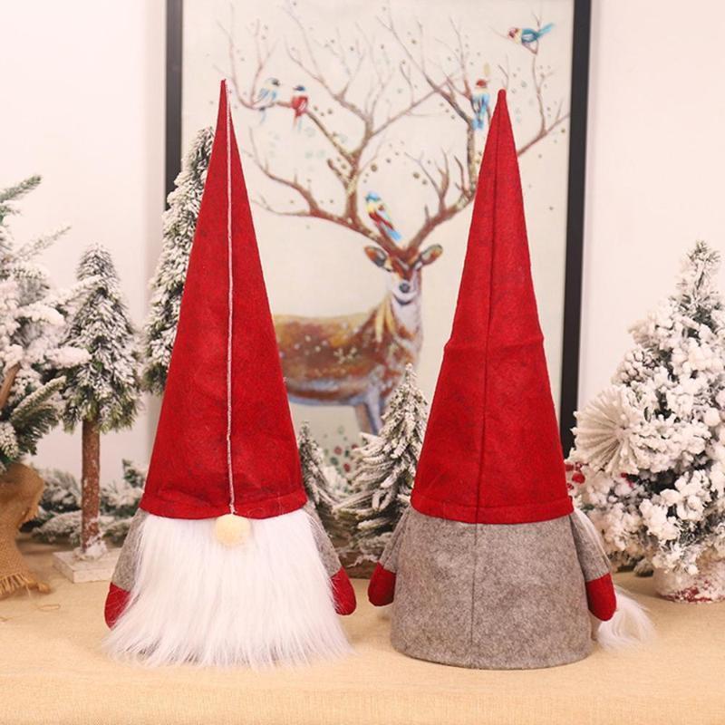 Árbol de Navidad Top Rudolph Doll Decoración de Navidad Ornamento Treetop Topper Suministros de Navidad Decoración del árbol1