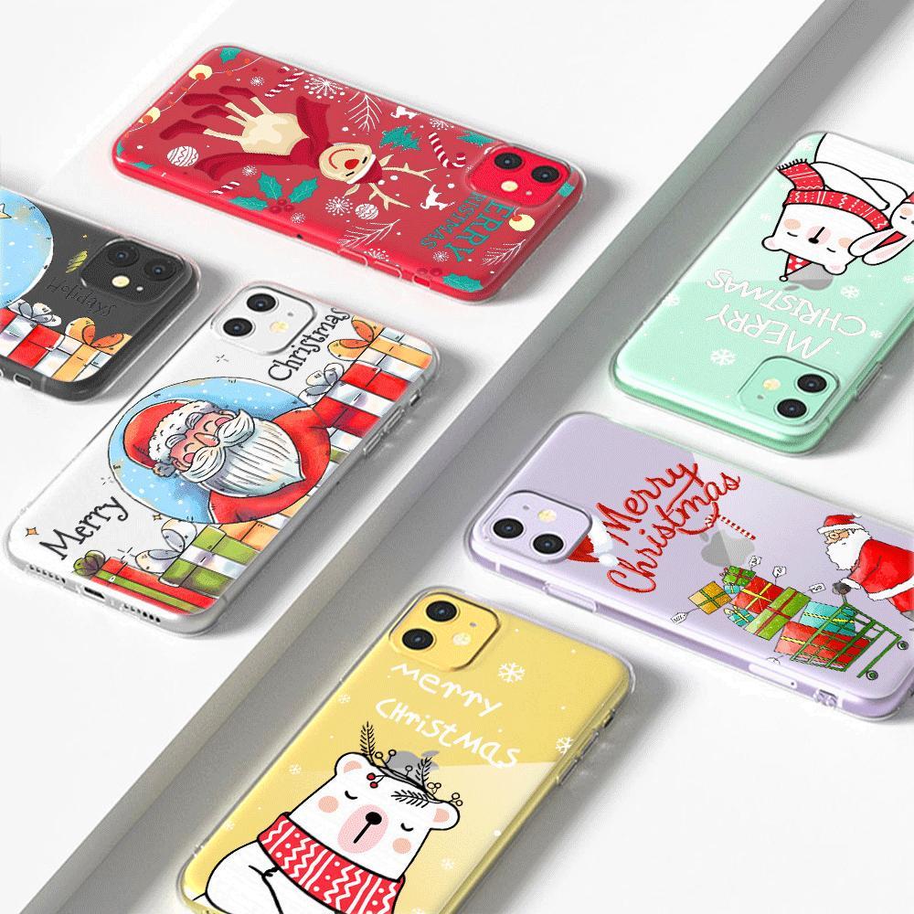 Explosão de Natal 2020 novo modelo é adequado para iphone12 caso do telefone móvel, a Apple telefone celular capa protetora